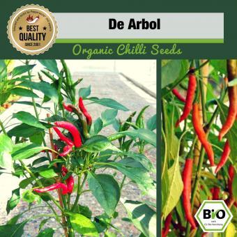 BIO De Arbol Chilisamen - First Try Then buy