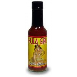 Hula Girl Chipotle Habanero Hot Sauce