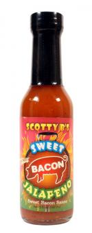Scotty B's Sweet Bacon Jalapeno Hot Sauce
