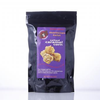 Moroccan Twist Caramel Popcorn