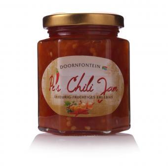 Pe's Chili Jam - 180g-Glas