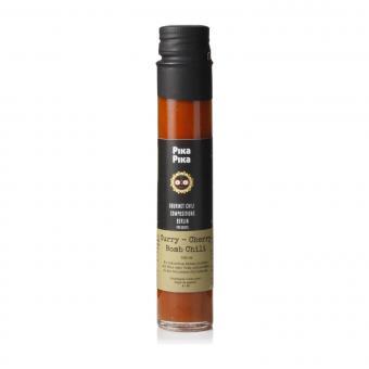 Pika Pika Curry-Garlic-Cherry Bomb Chili Sauce