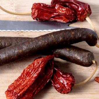 Beef sticks with Habanero