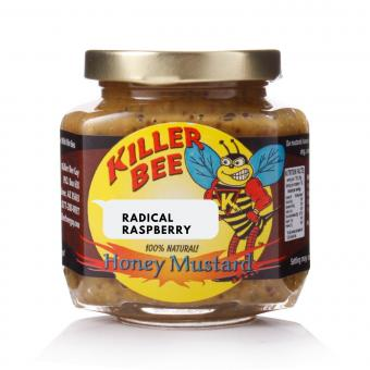 Killer Bee Raspberry Honey Mustard Whole Seed