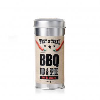 West of Texas® Smoky BBQ Rub & Spice