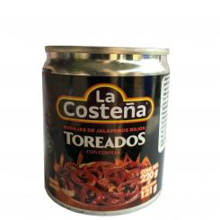 Toreados, Red Jalapeno Slices, La Costena