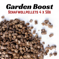 Garden Boost Sheep Wool - Sheep Wool Pellets 4x50g portion