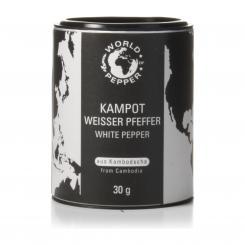 Real white Kampot Pfeffer - World of Pepper