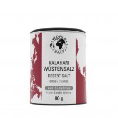Kalahari Wüstensalz - grob - World of Salt