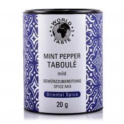Mint Pepper Taboule - World of Taste