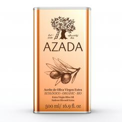 Extra Virgin Olive Oil 500 ml ORGANIC - AZADA