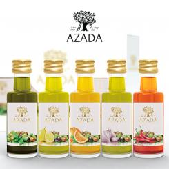 "Olive Oil Set ""Mediterranean Flavours"" 5 x 20 ml - AZADA"