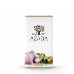 Olivenöl mit Knoblauch  250 ml - AZADA