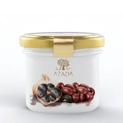 Tapenade mit schwarzen Oliven und schwarzem Knoblauch - AZADA