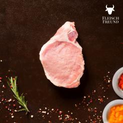 BIO Schweinerückensteaks 1x250g - FleischFreund