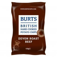 BURTS Devon Roast Beef Chips, 150g