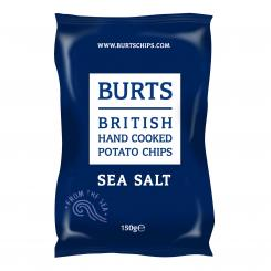 BURTS Sea Salt Chips, 150g