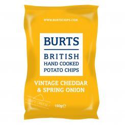 BURTS Vintage Cheddar & Spring Onion Chips, 150g