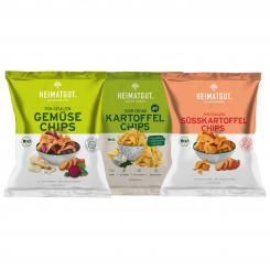 Snack-Set: Chips Freunde