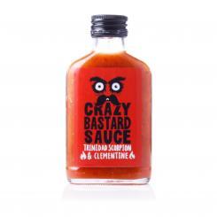 Crazy Bastard Sauce Trinidad Scorpion & Clementine (Red Label)
