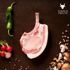 Dry Aged Tomahawk Steak vom Schwein, 400g - FleischFreund