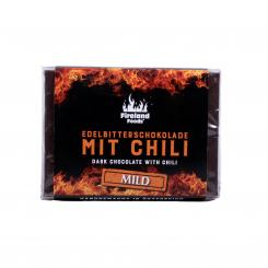 Fireland's fine dark chocolate with chilli MILD, 50g