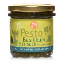 BIO Pesto Basil-bear-garlic - 165ml glass