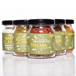 WürzWerk - 6 Spice Box Cucina mediterranea