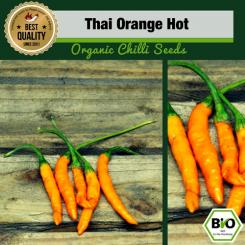 BIO Thai Orange Hot Chilisamen - First Try Then Buy