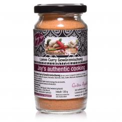 Lamm Curry Gewürzmischung (120g) - Joy's authentic cooking