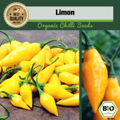 Organic Limon Chilli Seeds