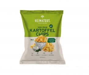 Heimatgut - BIO Kartoffel Chips Sour Cream Style 125g