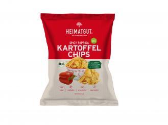 Heimatgut - BIO Kartoffel Chips Paprika 125g