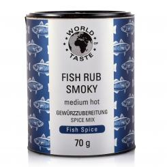 Fish Rub Smoky - World of Taste