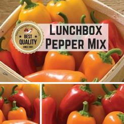 Lunchbox Pepper Mix Chilli Seeds