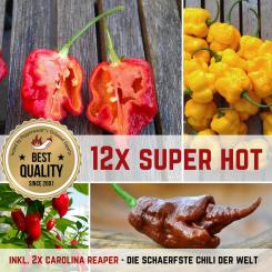 MEGA SUPER HOT Organic Plants-Power-Pack
