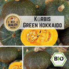 Green Hokkaido (Kürbis) Samen