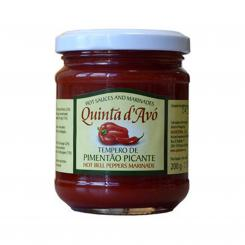 Tempero de Pimentao Picante - Hot Pepper Paste