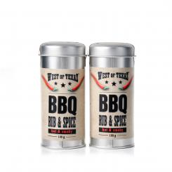 West of Texas® BBQ Rub & Spice Double pack