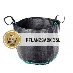 Plant bag 35l, round, 3 pack saver set