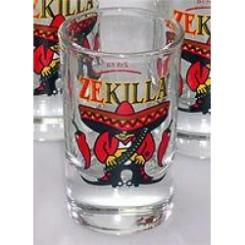 6 x ZEKILLA Chili Shotglass
