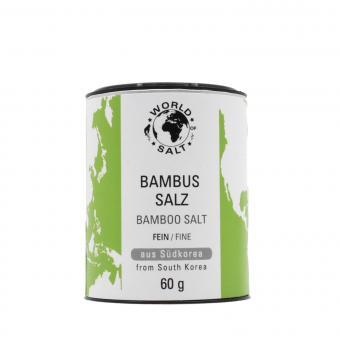 Bambus Salz - fein - World of Salt