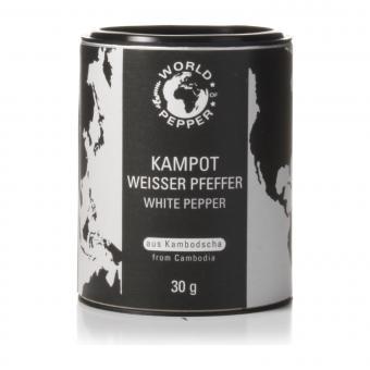 Echter weißer Kampot Pfeffer - World of Pepper