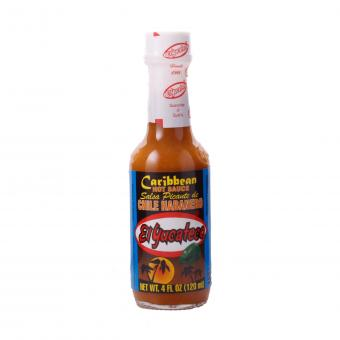 El Yucateco Caribbean Chile Habañero Hot Sauce