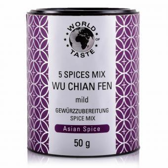 5 Spices Mix Wu Chian Fen - World of Taste