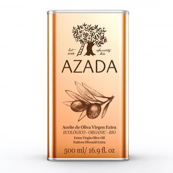 Extra Virgin Olive Oil 500 ml ORGANIC - AZADA