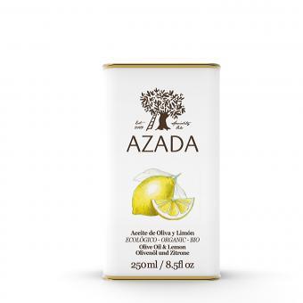 Olive Oil and Crushed Lemon  250 ml - AZADA