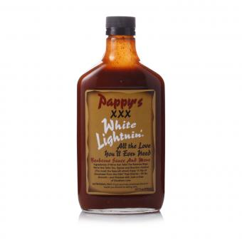 Pappy's XXX White Lightnin' Barbecue Sauce And More