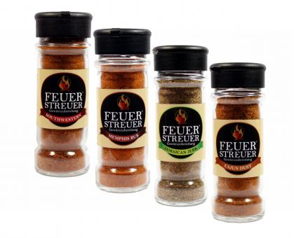 FeuerStreuer BBQ-Quartett