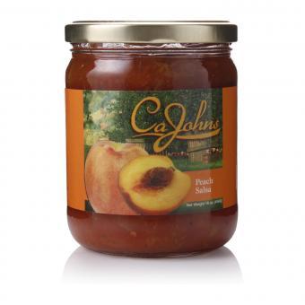 Cajohns Peach Gourmet Salsa